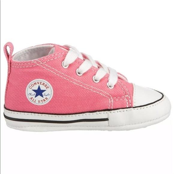 bueno Tibio oración  Converse Shoes | Chuck Taylor First Star Pink Sneakers | Poshmark